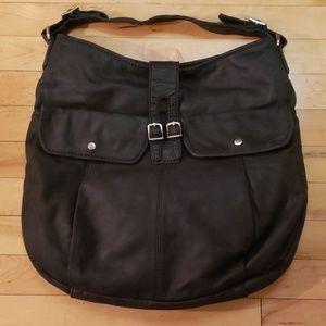 NWT J. Crew Bronwyn Hobo Bag 42142 in black